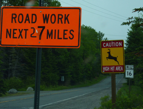 Road Work Next 27 Miles